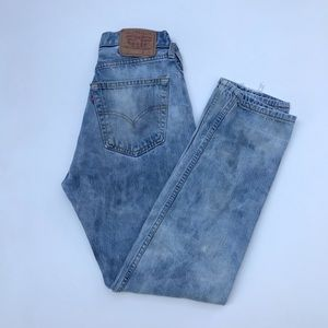 Vintage Levi's 501 High Waist wedgie fit Jeans